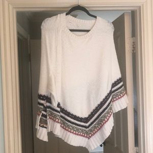 Anthropologie Poncho/Sweater